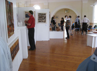 Art displays at the Depozitory