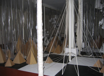 Basement Exhibition at the Depozitory in 2010