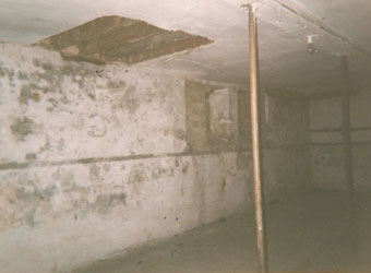 Basement before renovations of the Depozitory